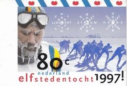 Nederland - Provincie Friesland - Elfstedentocht 1997 - Dick Neijzing - Ongebruikt - Afbeelding Zegel NVPH 1710 - Winter (Varia)
