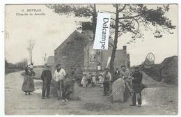 REVILLE (50) - Chapelle De Jonville  - (Belle Animation Avec Pêcheurs) - Andere Gemeenten