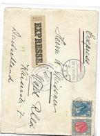 P-B. N°54-76A ZANDVOORT 29.V.15 S/lettre EXPRES V.WALD ( Allemagne).Dos Emmerich Et Wald. - 1891-1948 (Wilhelmine)