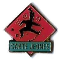 VOYAGEURS - V258 - CARTE JEUNES - Verso : BOITE A PINS - TGV