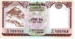 NEPAL - Billet 10 Rupees Ten  -  Animal  TBE - Népal