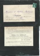Paris  - F.P. Décès De Mme Paul Arbellot Née Joséphine Meysson Le 6/10/1911   Mald6503 - Obituary Notices