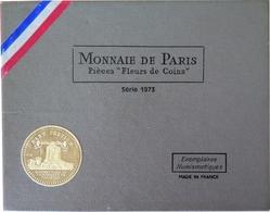 0021 - COFFRET FLEURS DE COINS - FRANCS - 1973 - 1 Centime à 10 Francs - France
