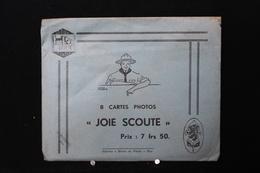 """F-113 / Scoutisme -   """"Joie Scoute"""" Avec Enveloppe """"Joie Scoute""""  Edit. Scout Du Pontia à Huy. - Scoutisme"""