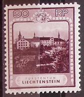 Liechtenstein 1930: Kloster Schellenberg Zu 94 B Mi 104 B Yv 104 Gezähnt Perforé 11 1/2 * Falz MLH (Zu CHF 330.00 - 50%) - Liechtenstein