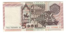 Italy 5000 Lire 01/07/1980 AUNC / SUP - [ 2] 1946-… : Républic