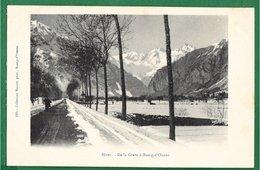 38 - Hiver - De La Grave à Bourg-d'Oisans - Bourg-d'Oisans