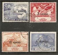 ADEN - KATHIRI STATE OF SEIYUN 1949 UPU SET FINE USED Cat £13 - Aden (1854-1963)