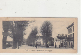 Lodi - Largo Cremona - Cartolina Formato Piccolo - 1921             (A-80-170615) - Lodi