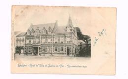 Hôtel De Ville Et Justice De Paix.REconstruit En 1878.Expédié De Enghien à Berchem. - Enghien - Edingen