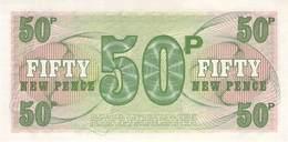 Fifty Pound Britisch Armed Forces Banknote Großbritanien UNC - Militärausgaben