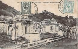 Vietnam - Tombeau Mandarin Vin-Thé à Chaudoc Cochinchine (indochine) (cad Nouvelle Calédonie) - Vietnam