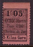 -France Colis Postaux Paris Pour Paris  16** - Colis Postaux