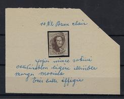 N°10 GESTEMPELD MET 4 MARGES COB € 10,00 SUPERBE - 1858-1862 Medallions (9/12)