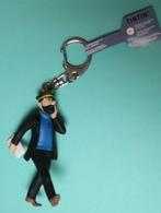 Tintin : Porte-clef Capitaine Haddock Et Son Journal : 11 Cm. De Hauteur ( Neuf Avec étiquette TINTIN ) - Figurines