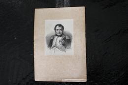 DH / Napoléon Iᵉʳ, Né Le 15 Août 1769 à Ajaccio Et Mort Le 5 Mai 1821 Sur L'île Sainte-Hélène,  / 16x24 Cm - Documents Historiques