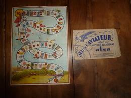 Le JEU De L'AVIATEUR , Offert Par La Levure ALSA - Juegos De Sociedad