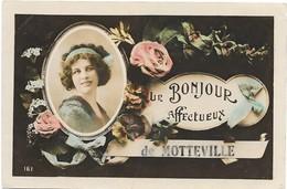 UN BONJOUR AFFECTUEUX DE MOTTEVILLE - Women