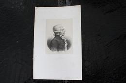 DH / Maximilien Robespierre, Est Un Avocat Et Homme Politique Français Né Le 6 Mai 1758 à Arras à Paris / 16x24 Cm - Documents Historiques
