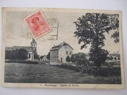 NOERDANGE Eglise Et Ecole - Cartes Postales