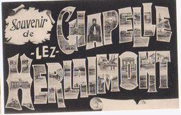 Cpa Souvenir Chapelle - Chapelle-lez-Herlaimont