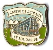 SERVICES DIVERS - SD163 - CAISSE DE RETRAITE - ERMONT - DIESEL - Verso : SM - TGV