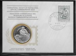 Italie - Médaille En Argent - Poids 20 Grammes - Autres