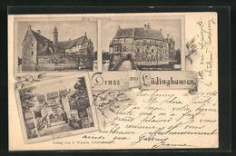 AK Lüdinghausen, Borg Vischering, Zugbrücke - Luedinghausen