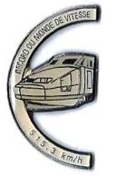 RECORDS - R461 - RECORD DU MONDE DE VITESSE - 515.3 Km/h - Verso : QUALITE COLLECTORS - TGV