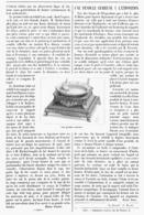 UNE PENDULE CURIEUSE  à L'EXPOSITION UNIVERSELLE De  1900 - Bijoux & Horlogerie