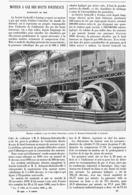 MOTEUR à  GAZ  Des HAUTS FOURNEAUX à L'EXPOSITION UNIVERSELLE De  1900 - Sciences & Technique
