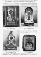LES CURIOSITES DE L'HORLOGERIE ( FALCONNET / PENDULES à SQUELETTE ) Retrospective  De L'EXPOSITION UNIVERSELLE De  1900 - Bijoux & Horlogerie