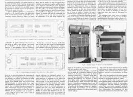 LES CHAUDIERES à VAPEUR  à L'EXPOSITION UNIVERSELLE DE  1900 - Technical