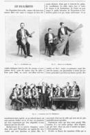 "LES "" BALALAIKISTES ""  1900 - Musik & Instrumente"