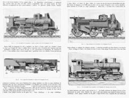 LES LOCOMOTIVES FRANCAISES  à L'EXPOSITION UNIVERSELLE De  1900 - Railway