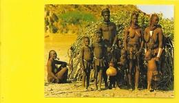 Famille De Namibie Jeunes Femmes Aux Seins Nus (Hoffmann S.W.) - Namibie