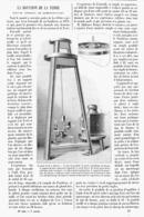 LA ROTATION De La TERRE Nouvel  Appareil De Demonstration  1900 - Technical