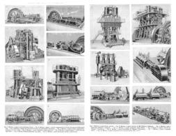 LES MACHINES à VAPEUR  à L'EXPOSITION UNIVERSELLE DE  1900 - Technical