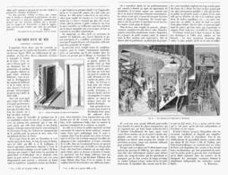 L'AQUARIUM D'EAU De MER   à L'EXPOSITION UNIVERSELLE DE  1900 - Technical
