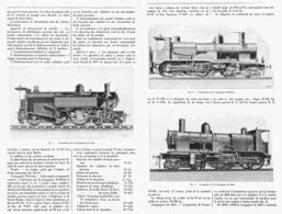 LES LOCOMOTIVES FRANCAISES  à L'EXPOSITION UNIVERSELLE De  1900 ( 2 ) - Chemin De Fer