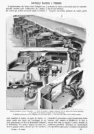 NOUVEL MACHINE à TIMBRER  1900 - Technical