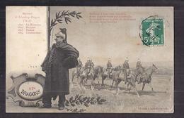 CPA MILITAIRE - 17 éme DRAGONS - TB CP 2 Vues Dont Cavaliers - Régiment De Schomberg-Dragons - Regiments