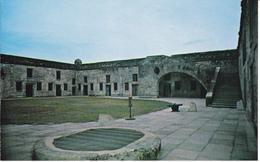 ST AUGUSTINE - FLORIDA - CASTILLO DE SAN MARCOS - St Augustine