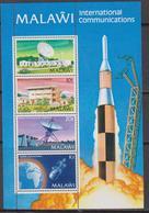 MALAWI 1981 MNH** Telecommunication 4v Space - Telecom