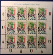Italia Repubblica 2002 Juventus Minifoglio Di 12 Val **/MNH VF - Hojas Bloque