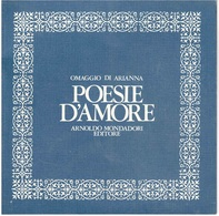 OMAGGIO DI ARIANNA POESIE D'AMORE - Compilations