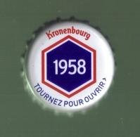 CAPSULE BIERE BLONDE ( Kronenbourg 1958) - Bier