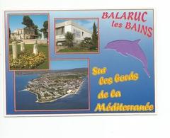 34  - Carte à Trou, BALARUC LES BAINS      (dauphin) - Frankreich