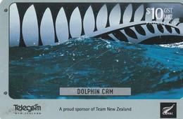 TARJETA TELEFONICA DE NUEVA ZELANDA, Dolphin Cam. NZ-C-092. (043) - Neuseeland