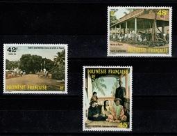 Polynesie - YV 233 à 235 N** Tahiti D'autrefois - French Polynesia